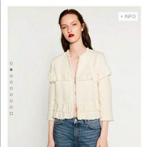 NWT Zara Tweed Jacket